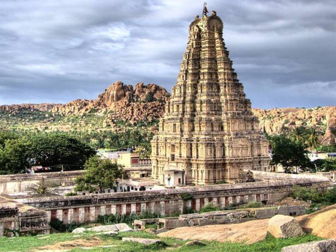 The Oldest Temple In India - Virupaksha Temple