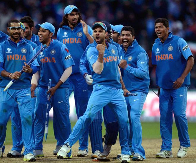 Team India Rocks!