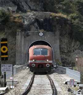 New Train To Katra Launched By Modi Gets Stuck Inside Tunnel