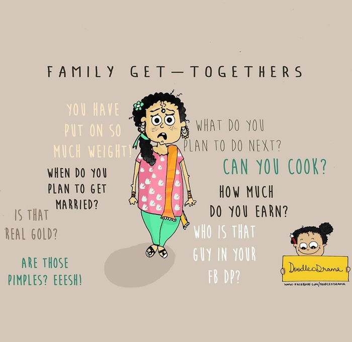 10 Things Indian Relatives Say!