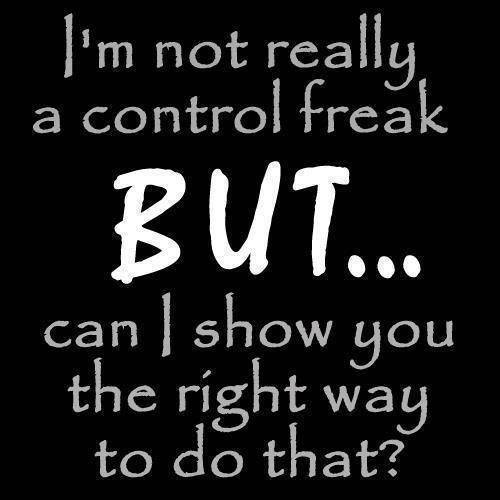 10 Signs You Are A 'control Freak'