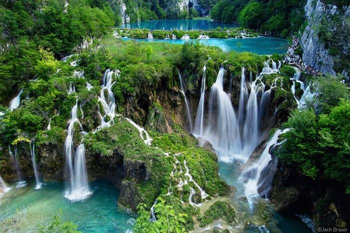 The Plitvice Lakes National Park, Croatia