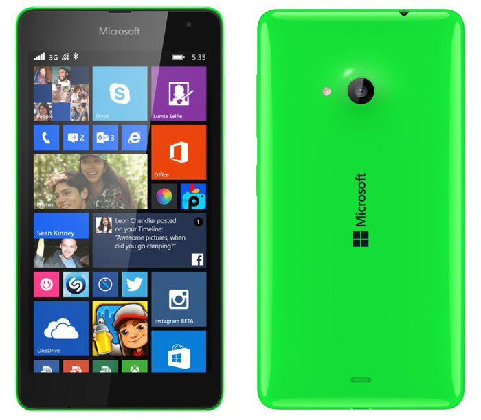 5 Things You Must Know About Microsoft Lumia 535