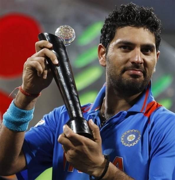 Top Millionaire Cricketers Of India - Yuvaraj Singh