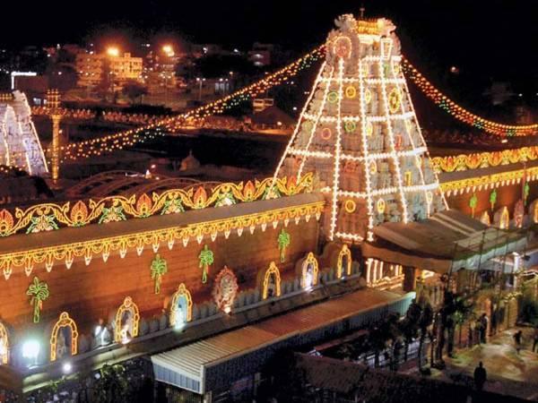 Wealthiest Temples Of India - Tirumala Tirupathi Temple