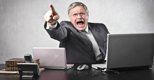 How To Deal With An Angry Boss