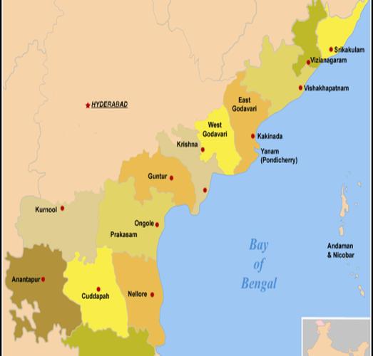 Indian States With Longest Highways - AP And Karnataka
