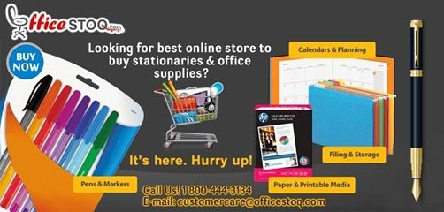 Officestoq - Best Online Store To Buy Stationery And Office Supplies