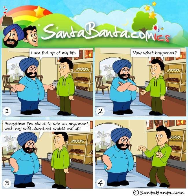 Santa Banta Jokes