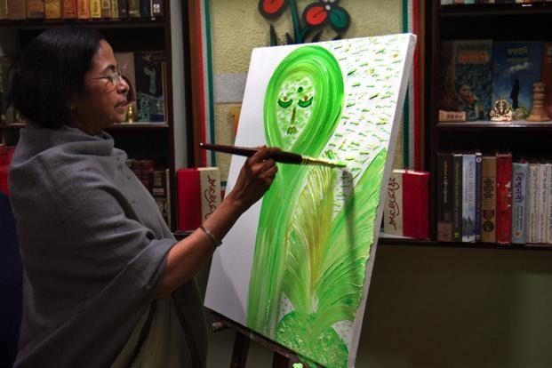 WTF: Mamata Banerjee Paintings Sold For 9 Crores