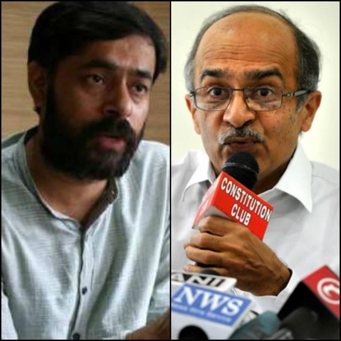Prashant Bhushan And Yogendra Yadav Expelled From AAP