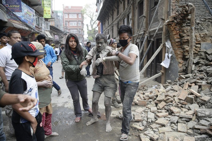 Shocking Images Of Nepal After 7.9 Magnitude Earthquake Rocked The Country