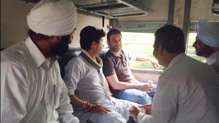 Rahul Gandhi's Janata Class Travel To Punjab A PR Stunt?