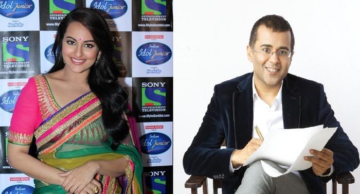 Sonakshi Sinha, Chetan Bhagat To Judge Reality Shows On TV?