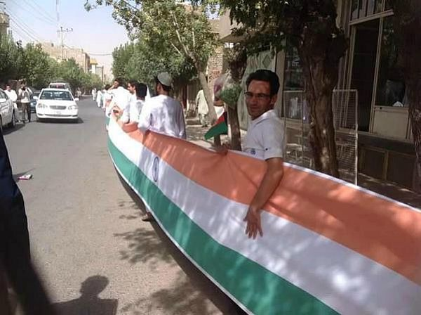Afghans Carry 100 Metre Tricolour To Thank India, All For A Dam