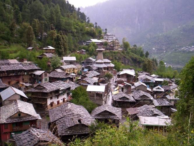 Picturesque Villages In India - Malana