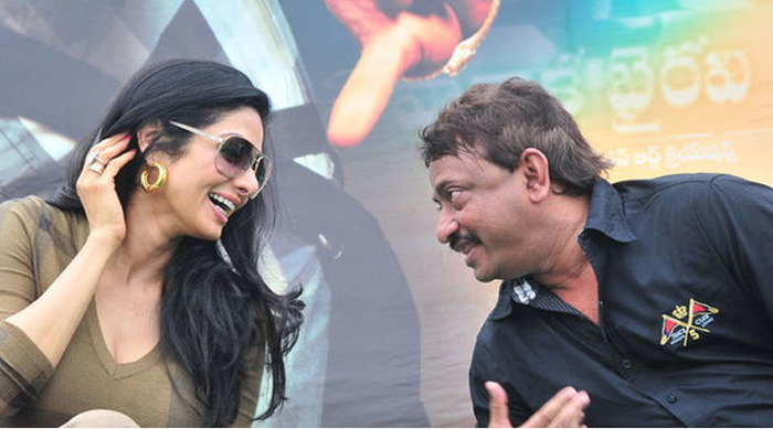Oops! RGV Writes About Sridevi In New Book, Pisses Off Hubby Boney!