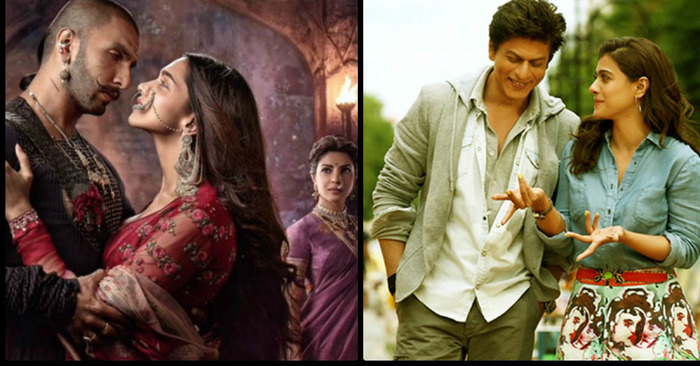 5 Reasons Why You Should Watch Bajirao Mastani Over Dilwale!