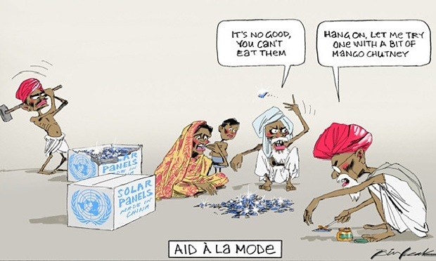 Australian Newspaper Prints A Racist Cartoon About India!