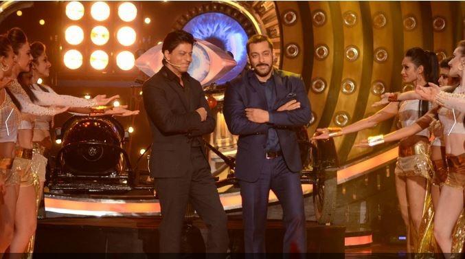 Finally: Shah Rukh And Salman Khan's Big Outing On Bigg Boss 9