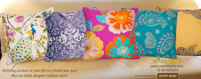 Buy Linen Cushion Covers Online From The House Of MaddHome