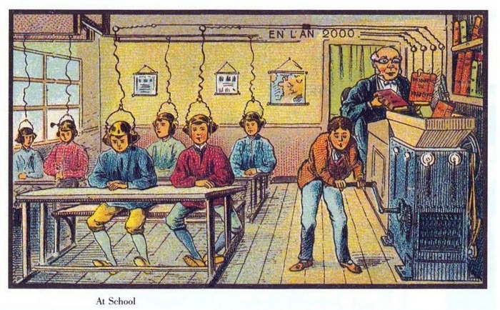 Here's How French Artists From The 1900s Thought 2000 Would Look Like!