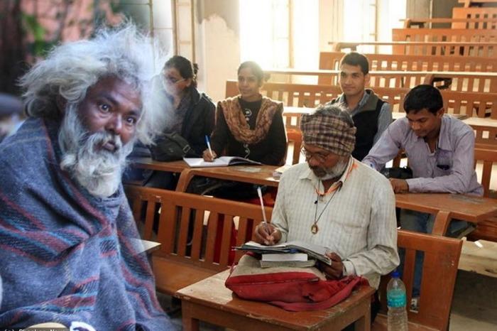 Jaipur Beggar Enrols Himself In Law School At The Age Of 48!