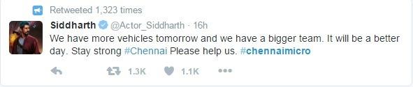Bravo: Celebrities Who Are Using Their Popularity To Help Chennai!