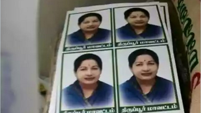 Jayalalithaa's Photos Forcibly Stuck On Relief Materials For Chennai