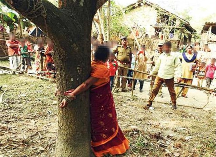Shocking: West Bengal Woman Tied To Tree & Tortured For 6 Hours
