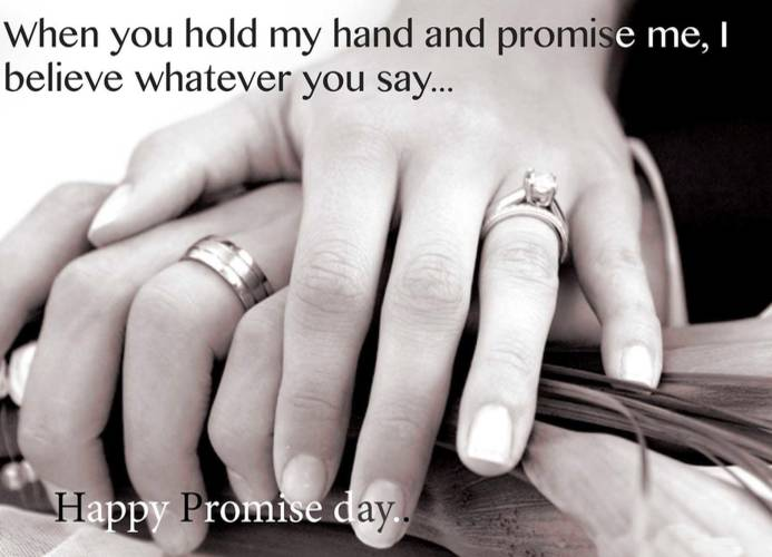 Promise Day Celebration Of  singles