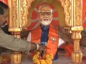 Shocking: A Temple On Modi In Rajkot!!