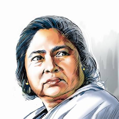 Is Modi Following The Line Of Auction Of Mamata's Painting?
