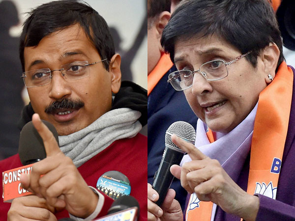 Is Kiran Bedi Scared Of Kejriwal?