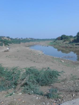 River Purna --Akola Maharashtra.