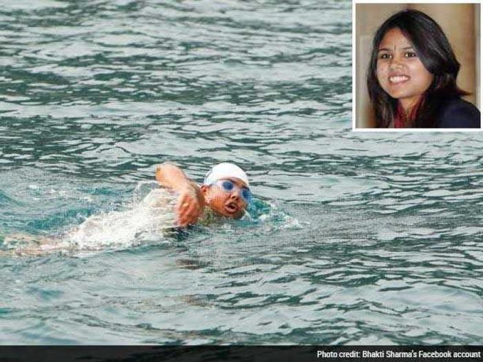 Swimming World Record: Kudos Bhakti Sharma!