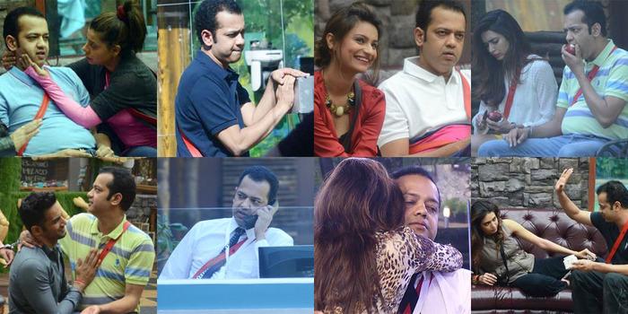 Bigg Boss 8 - The Various Faces Of Rahul Mahajan!!!