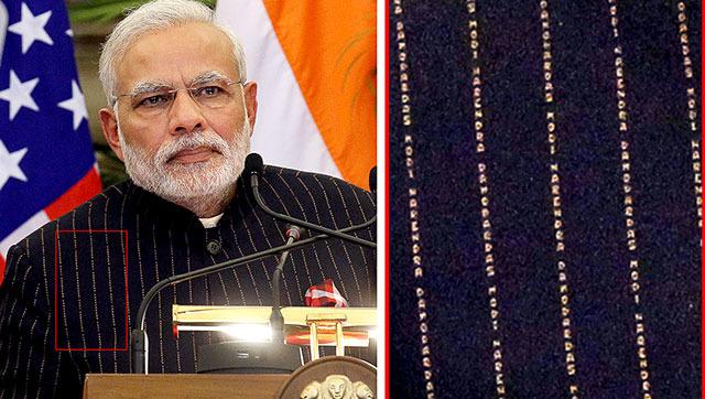 OMG: PM Narendra Modi Wears A Suit Worth 10 Lakhs!