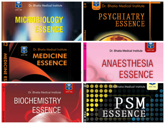 DBMI Essence Series For PG Medical Preparation