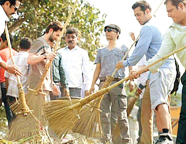 Salman Khan, Cleaning India After Killing People??