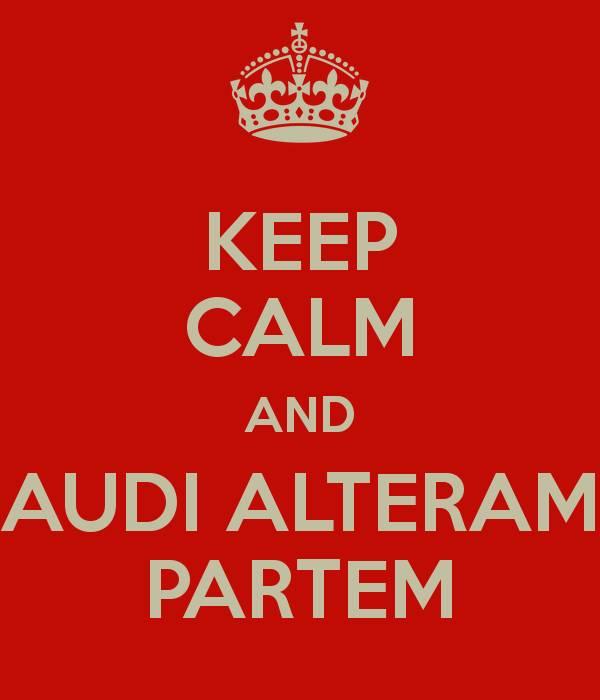 Meaning Of Audi Alteram Partem