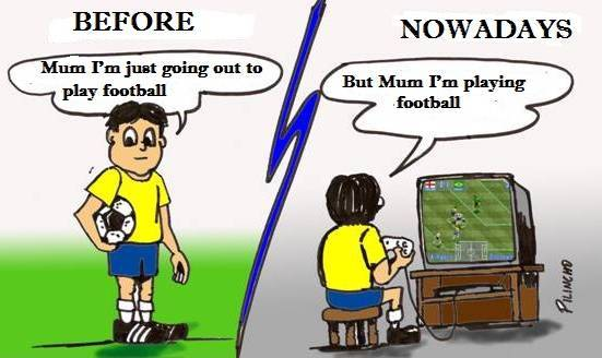 Childhood: Then V/s Now