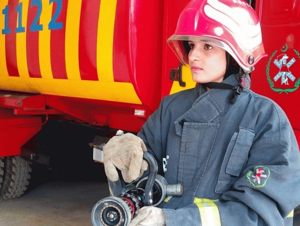 Kudos To Pakistan's First Female Firefighter