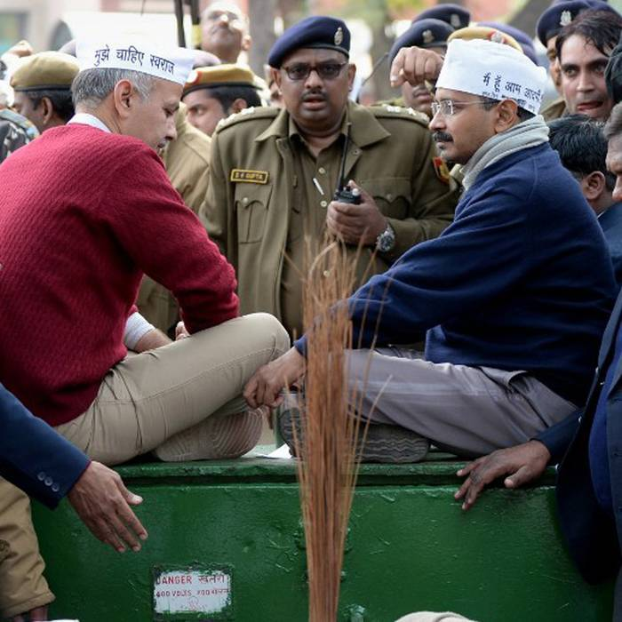 Oops: Delhi Chief Minister Arvind Kejriwal Asking For Donations?