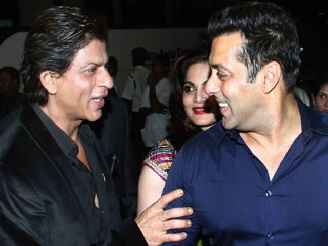 Shah Rukh-Salman Eid Exchange On Twitter