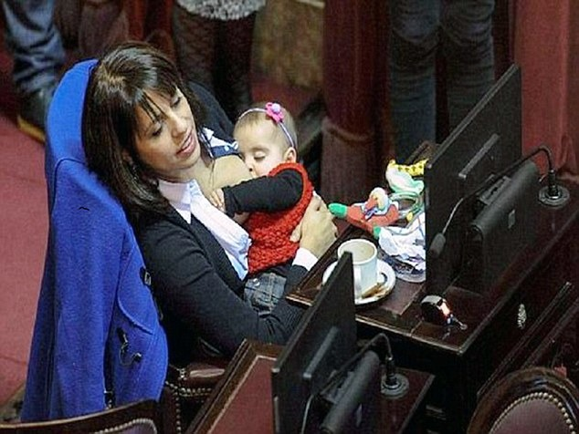 Argentina MP Gets 8-month-old Baby To Parliament; What Excuse Do Our MPs Have?