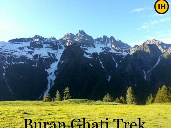 Top Breathtaking Trekking Destinations In India - Buran Ghati, Himachal Pradesh