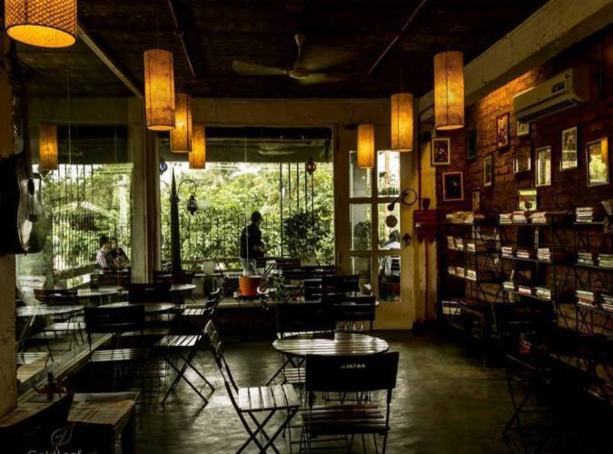 Coolest Book Cafes To Hang Out In India - The Coffee Cup, Hyderabad