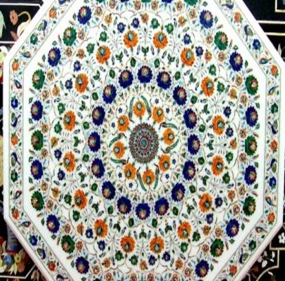 Grandeur Of Indian Arts And Handicrafts - Exotic Marble Stone-craft Of Agra