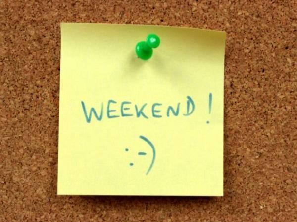 15 Reasons Why People Love Weekends